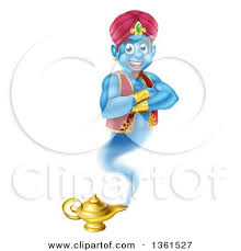clipart graphic handsome arabian man aladdin holding