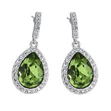 peridot earrings royal peridot earrings pica léla collection