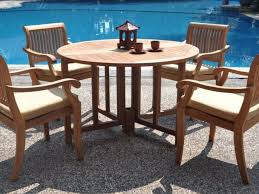 patio 11 elegant outdoor wood dining table design and