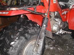 honda atc big red 250sx 250es front fork shock boots atv new ebay