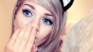 big doll eye makeup tutorial youtube