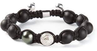onyx bracelet with diamonds images Lyst shamballa jewels diamond and onyx bracelet in black for men jpeg