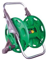water hose reel wall mount hozelock 2in1 hose reel departments diy at b u0026q
