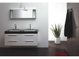 find and save contemporary white double vanity black top master