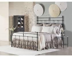 trellis metal queen bed magnolia home