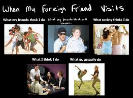 Friends Meme - foreign friends meme by jocyhope on deviantart