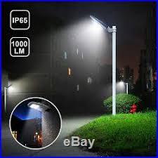 commercial solar lighting for parking lots street industrial lighting