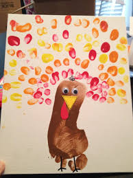 harvest crafts for preschoolers thanksgiving stamp pad and