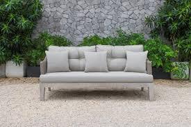 Coronado Patio Furniture by Renava Coronado Outdoor Beige Sofa Set