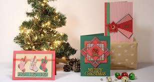 3 ways to make a traditional christmas card hobbycraft blog