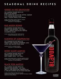 black widow martini blavod black vodka seasonal recipes holiday u0027s pinterest