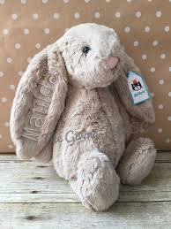 personalized easter bunnies so personalized jellycat bunny rabbits easter by