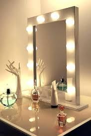 good makeup mirror with lights mirror w lights medium size of good makeup desk with lights bedroom
