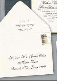 wedding invitation response card impressions count a well addressed wedding invitations