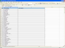 Inventory Checklist Template Excel Home Inventory Spreadsheet Thebridgesummit Co