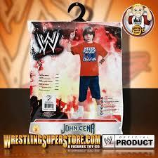 Wwe Costumes Halloween Wwe John Cena Kid Size Halloween Costume Standard Edition