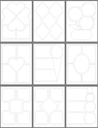 puzzle pieces template free clip art library