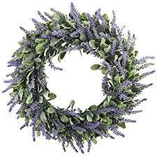 gtidea 18 artificial lavender wreaths flowers