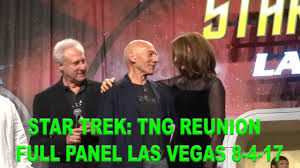 star trek tng 30th anniversary reunion full panel front row