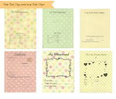 free baby book template pages book embroidered embroidery