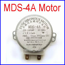 mds class mds 4a microwave turntable turn table motor synchronous motor mds