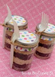 jar cakes oreo coffee cake in a jar inside brucrew