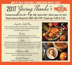mezcal mexican grill join us for a traditional thanksgiving