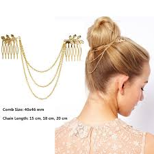 cheap hair accessories hot cheap vintage hair accessories gold chain with