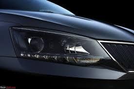 ferrari headlights at night 2016 skoda rapid facelift a close look team bhp