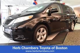 certified used 2013 toyota sienna for sale in boston ma serving