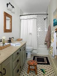 black and white subway tile bathroom ideas five wooden door chest