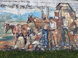 El Mural by El Mural Minero De La Arboleda Se Desvanece Elcorreo Com