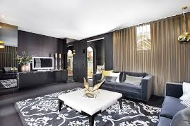 Black Grey And White Area Rugs Gray Sofa Living Room Dining Room Contemporary With Black And