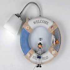 Kids Lighting Navy Wall Light Promotion Shop For Promotional Navy Wall Light On