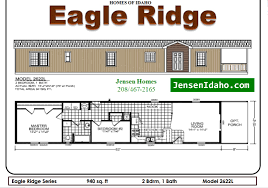 2 bedroom single wide trailer floor plans
