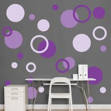 versatile uniqueness silver polka dot wall decals home design image of purple silver polka dot wall decals