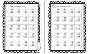 i dream of first grade freebie two digit addition for valentine u0027s