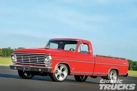 Vintage Ford Truck Emblems - 1967 ford f 100 ranger red obsession rod network