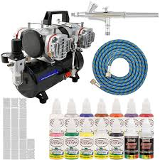 complete professional airbrush nail kit with g25 airbrush master