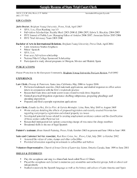 Resume Sample Attorney by Cover Letter Law Clerk