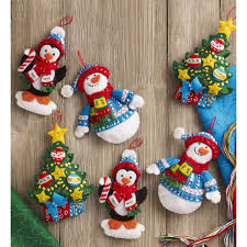 100 seasonal home decorations bucilla seasonal felt shop plaid bucilla seasonal felt ornament kits trimming