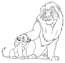 craftoholic lion king printable coloring pages