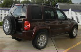 liberty jeep 2004 2004 jeep liberty limited suv item d9643 sold august 24