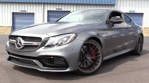 mercedes c63 amg review 2017 mercedes amg c63 s coupe start up road test in depth