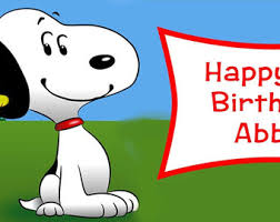 snoopy banner etsy