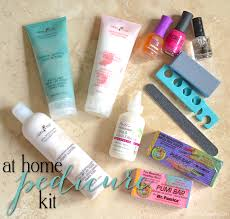 at home diy pedicure kit everything you need 15 minute beauty