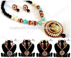 costume jewelry necklace sets images Wholesale american diamond pendant set american diamond jpg