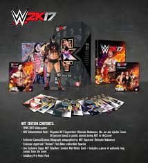 wcw halloween havoc complete details on wwe 2k17 collector u0027s edition and wwe 2k17 nxt