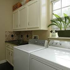 Home Design Ideas Gallery Of Easy Utility Sink Backsplash Also - Utility sink backsplash