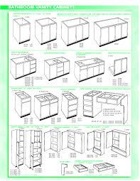 Standard Kitchen Cabinet Height Standard Cabinet Sizes Chart Everdayentropy Com